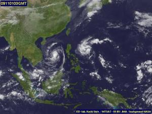 new LPA after typhoon Santi